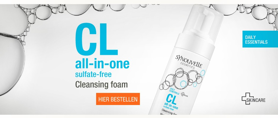 CL all-in-one Cleansing foam